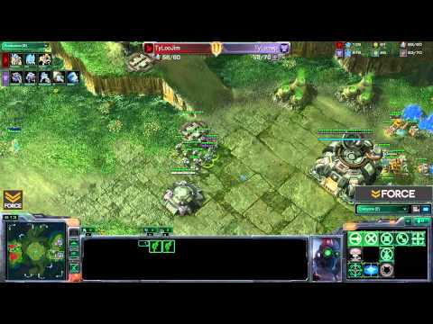 StarCraft 2 - Jim [P] vs WP [T] G1 (Commentary)