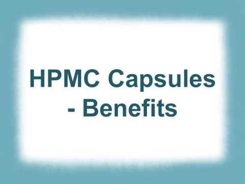 HPMC Capsules-Benefits