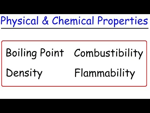 Physical vs Chemical Properties Explained, Examples, Chemistry Video