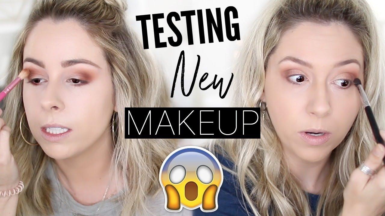 BEST DRUGSTORE EYESHADOW PALETTE?? | Testing NEW Makeup!!