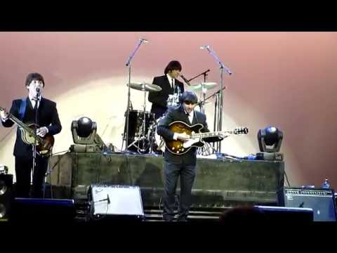 Beatles music by tribune band on a cruise ship May 2016