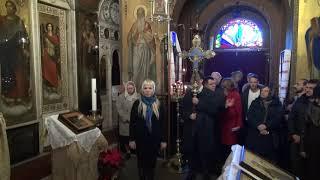 Молебен в честь обретения икон с мощами /вручение орденов