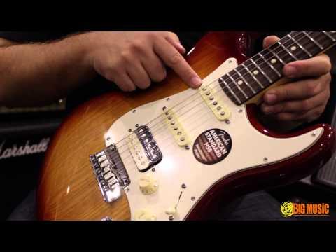 Fender American Standard Shawbucker HSS Strat | Product Demo
