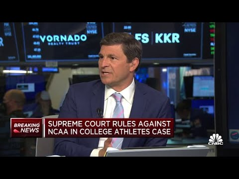 Supreme Court rules against NCAA in college athlete compensation case