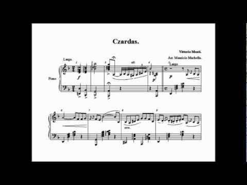 Czardas, Vittorio Monti. Piano arrangement Maurizio Machella.