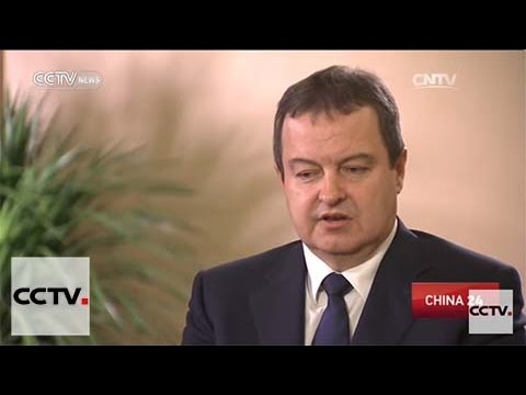 Serbia's First Deputy Prime Minister speaks to CCTV
