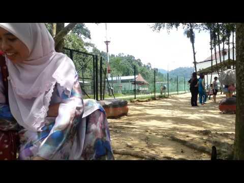 Rabbit feeding, Animal Park, Bukit Tinggi