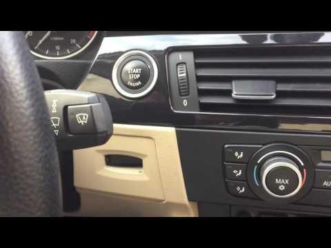 BMW e90 engine start without the KEY!!! TRICK
