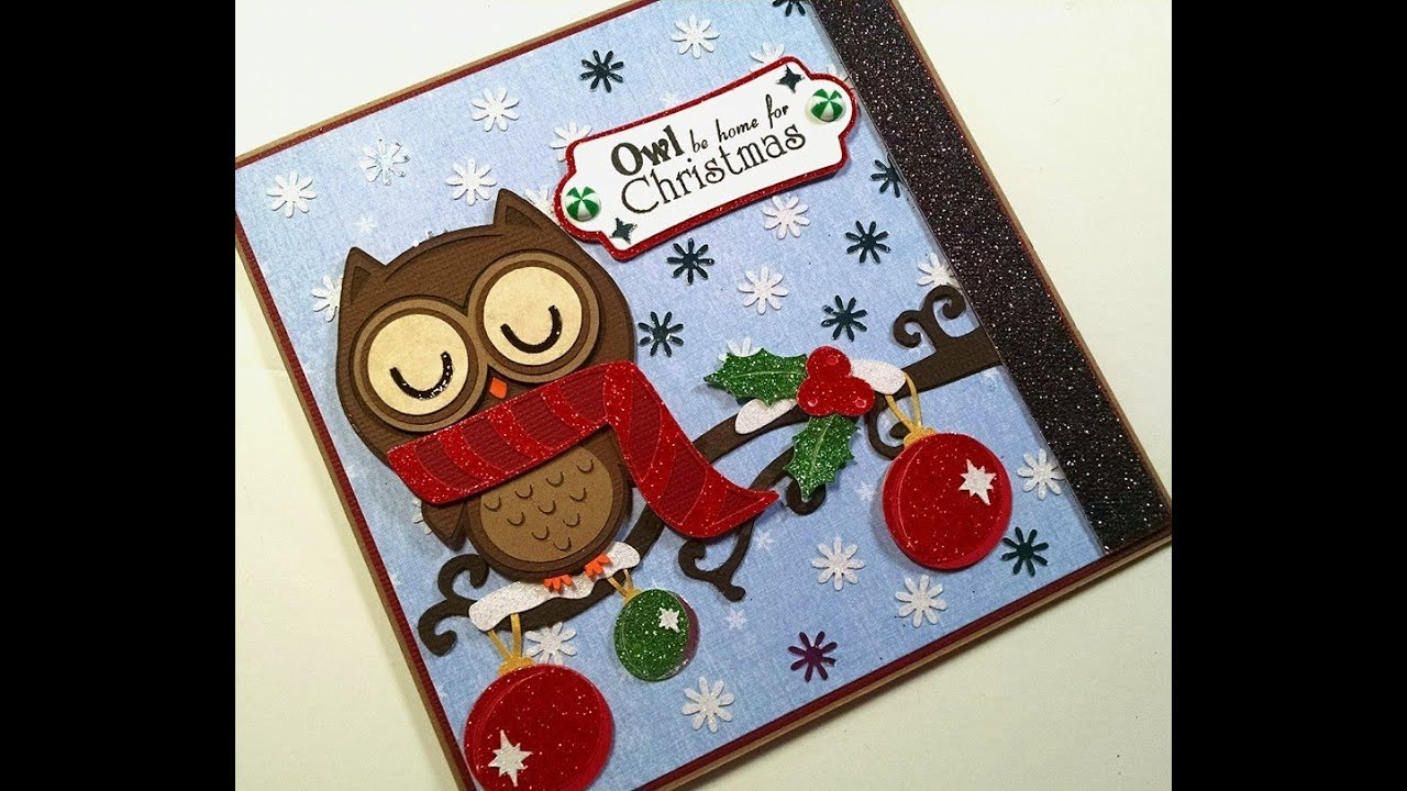 2014 #15 Owl be Home for Christmas Christmas Card - YouTube