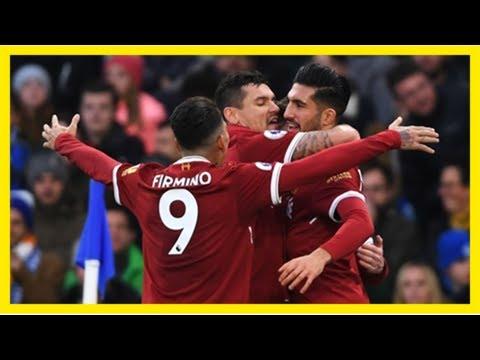Liverpool vs. Brighton & Hove Albion - Football Match Report ...
