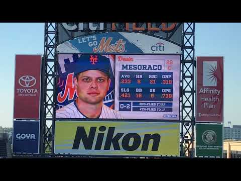 New York Mets Walk Up Songs and Jumbotron Animations as of July 2018