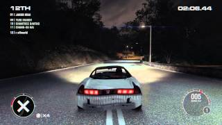 GRID 2 (HD Gameplay PC-PS3-XB360 How to park a japanese Car)