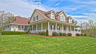 Pilot, VA Farm House For Sale (Perfect for HORSES!) - 3600 Old Sourwood Road, Pilot, VA 24138