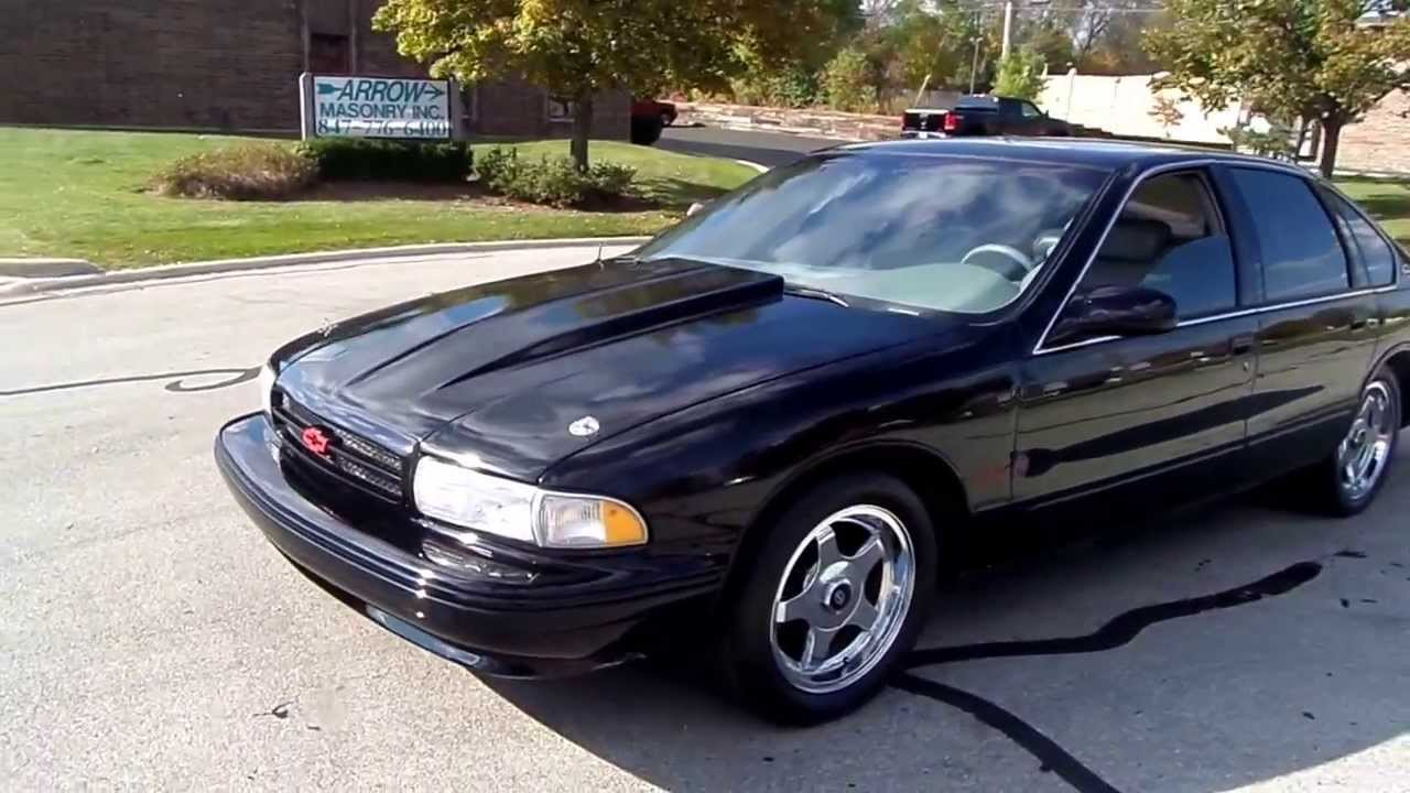 Impala 1996 chevy impala ss : 1995 CHEVROLET IMPALA SS-SUPERCHARGED FOR SALE AMERICAN MUSCLE ...