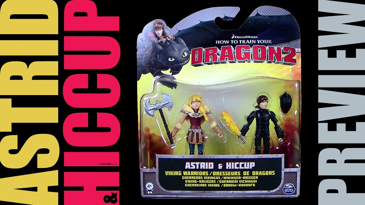Dragons  Astrid  Hiccup  Astrid  Hicks  Spin Master Preview