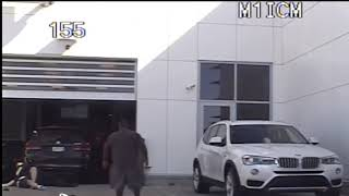 Shocking Moment a Man Shoots At Two Police Officers at a BMW Car Dealership!