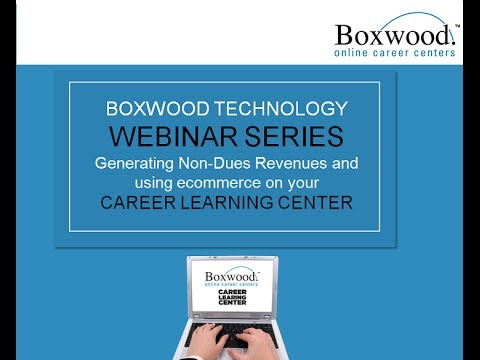 Generating Non-Dues revenue with your Career Learning Center
