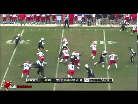 Jibrille Fewell vs Charleston Southern 2013