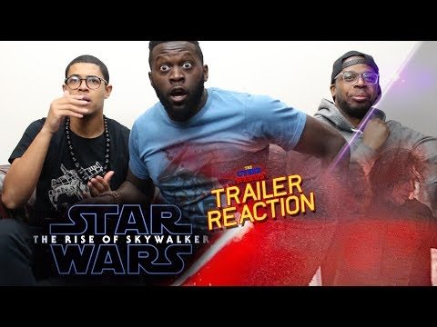 Star Wars The Rise Of Skywalker Trailer Reaction