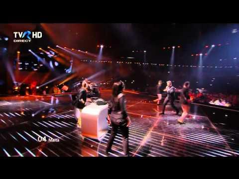 HD Eurovision 2012 Malta: Kurt Calleja - This Is The Night (Semi-Final 2)