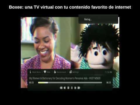 Boxee: tu TV virtual, para ver todo tu contenido de internet