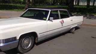 Аренда ретро авто на свадьбу Cadillac Fleetwood 1970(Аренда ретро автомобилей на свадьбу с водителем. Свой автопарк, все машины в единственном экземпляре в..., 2013-05-20T18:36:12.000Z)