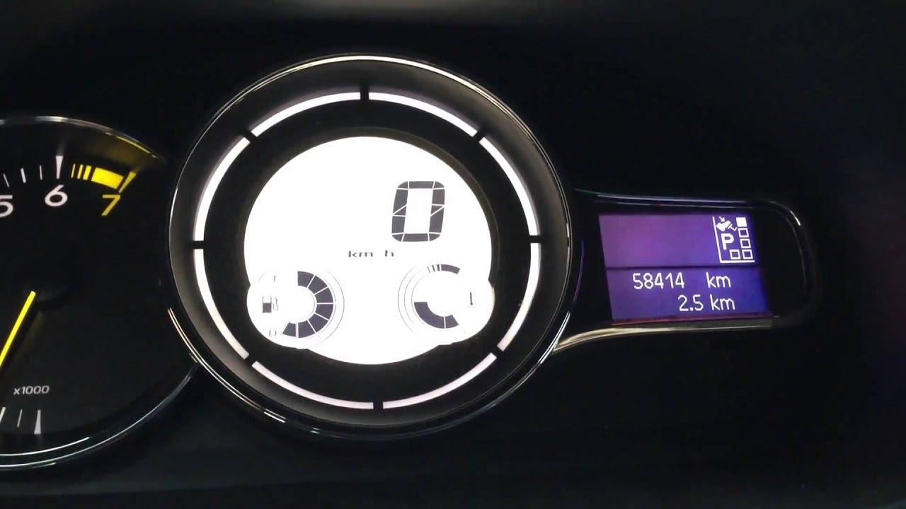 Намотать пробег моталка пробега для Renault Latitude 2013 - YouTube