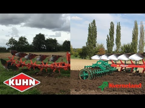 KUHN Smart Plough vs Kverneland i-Plough | TractorLab