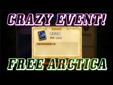 CRAZY EVENT FREE ARCTICA! Castle Clash