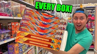 BUYING EVERY CLEARANCE EX & GX POKEMON CARD COLLECTION BOX at WALMART! Opening Packs