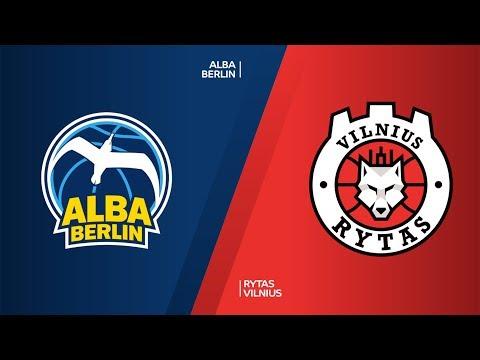 ALBA Berlin - Rytas Vilnius Highlights | 7DAYS EuroCup, T16 Round 4