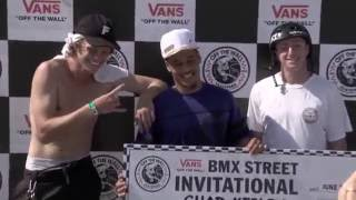 Chad Kerley at the Vans BMX Street Invitational