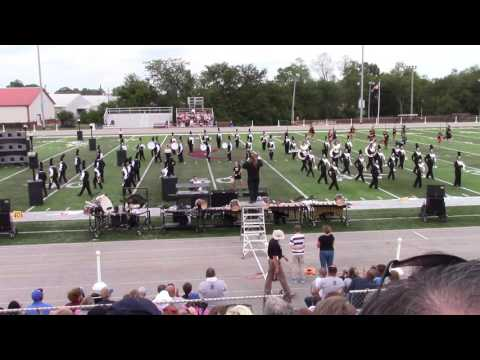 Boyle County Marching Band at Bourbon County 9-10-16
