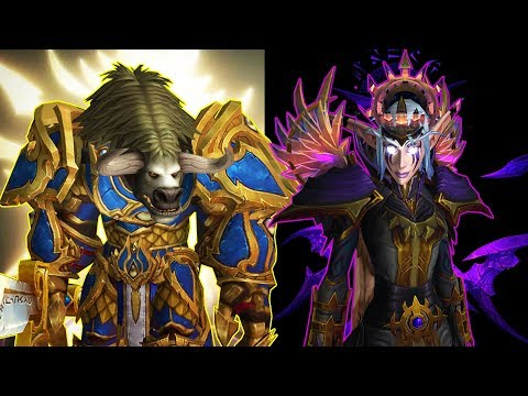 Light Or Void... Choose Your Side Next Expansion: New Factions In World Of Warcraft After Legion?