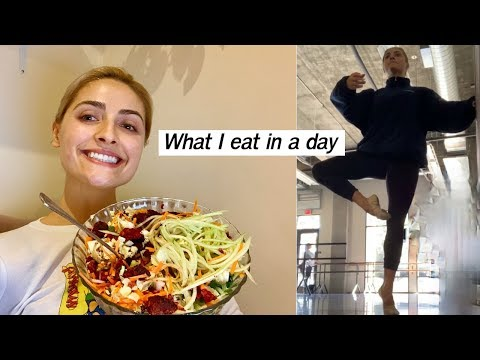 What I Eat in a Day *vegan dancer getting back in shape*