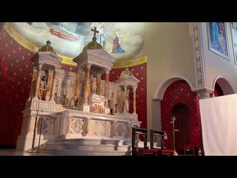 Sung Vespers and Benediction at the Chapel of Divine Mercy (3/21/20)
