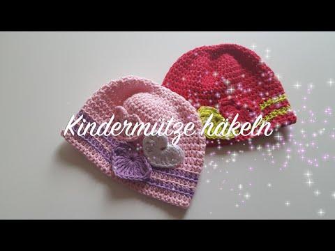 Kindermütze Häkeln Für Anfänger Anleitung Linkshänder Takatsuki