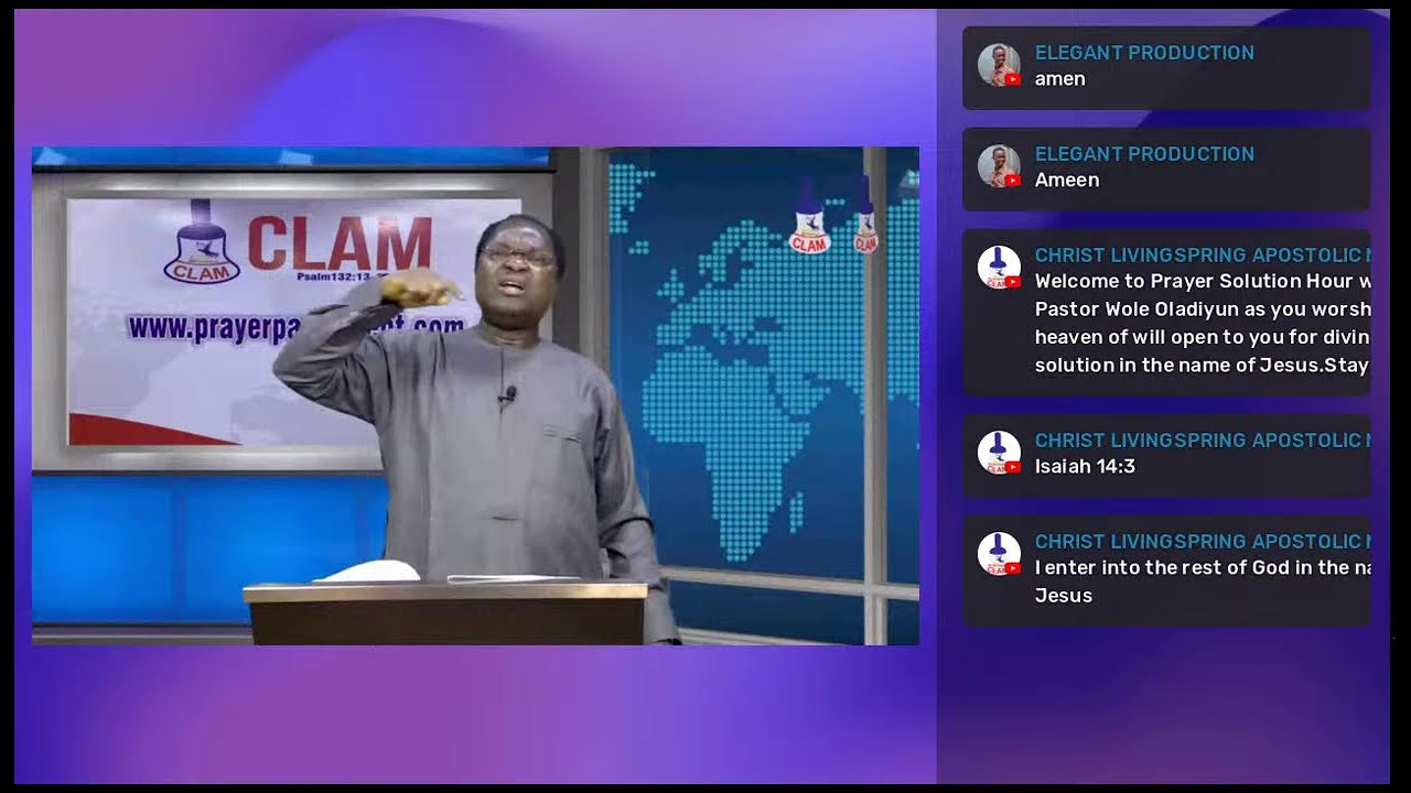 Download Prayer Solution Hour with Pastor Wole Oladiyun