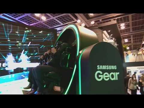 GITEX 2017 ,DUBAI -Samsung Gear VR 4D Experience
