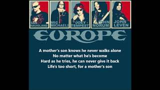 Watch Europe A Mothers Son video