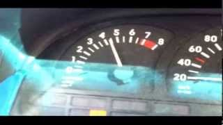 Opel Calibra 8000 RPM with ECU tuning stage 1 .. Remove rev limiter