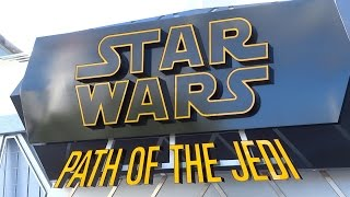 More signs from Season of the Force and Super Hero HQ progress at Disneyland