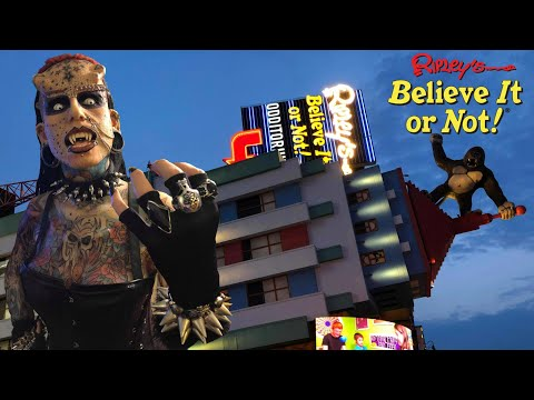 Ripley's Believe It Or Not! Niagara Falls 2019 Tour & Review With The Legend