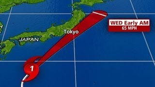 Typhoon Wipha Headed For Japan