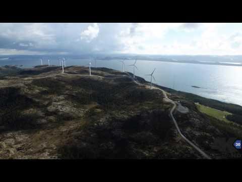Hundhammerfjellet vindmøllepark