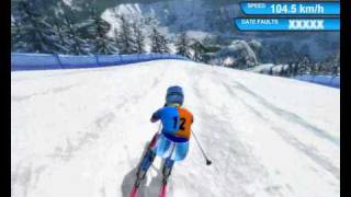 Super-G; Alpine Skiing; RTL Winter Sports 2009
