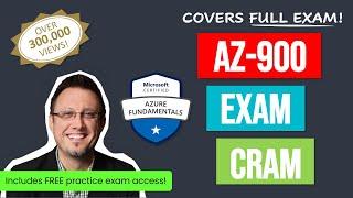Azure Fundamentals Certification Exam Cram (AZ-900) Full Course 2021