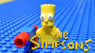"""Simpsons on beach"" Lego Simpsons animation"