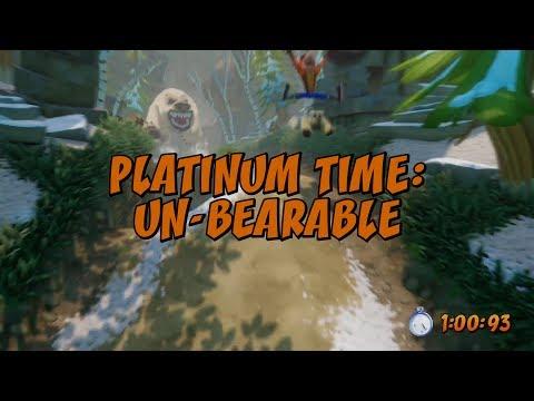 Un-Bearable Platinum Time