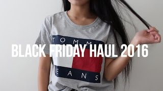 Black Friday Haul 2016!! | Urban Outfitters, PacSun, and More!